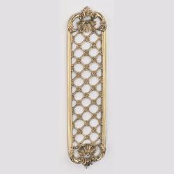 Brassart - louis xv decorative finger plate - Piastra Per Maniglia