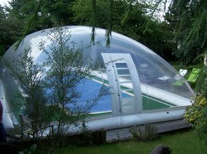 Abri piscine POOLABRI - aero - Copertura Gonfiabile Per Piscina