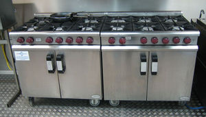 Elliott Group - gas cooking equipment - Gruppo Cottura Doppio Forno