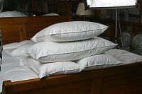 Northern Feather Of Ireland - microfibre pillow. - Cuscino