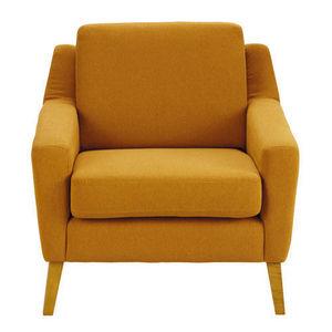 Maisons du monde - fauteuil linara orange mad men - Poltrona