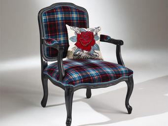 Robin des bois - fauteuil inès kilt - Poltrona