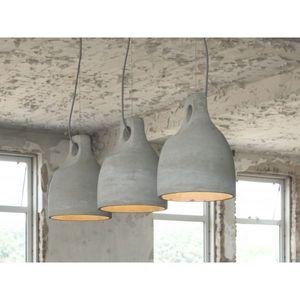 Mathi Design - suspension triple beton - Lampada A Sospensione