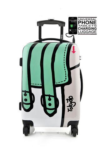 TOKYOTO LUGGAGE - Trolley / Valigia con ruote-TOKYOTO LUGGAGE-TWISTED BAG