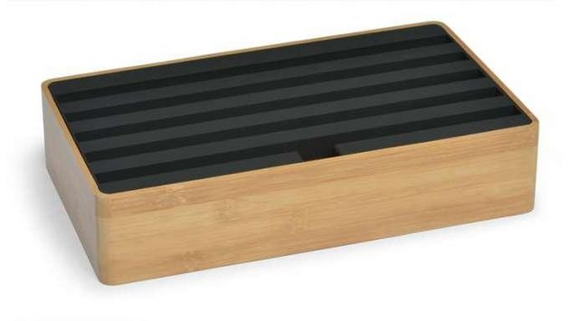 ALL DOCK - Supporto per mensola-ALL DOCK-ALL DOCK - Bambou noir / Grand