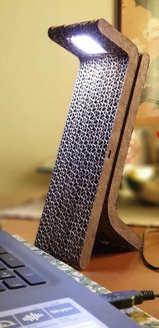 Cardboard & Design - Lampada da appoggio a led-Cardboard & Design-VICEVERSA