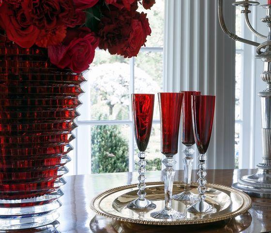 Baccarat - Flute da champagne-Baccarat-Coffret 2 flûtes Véga
