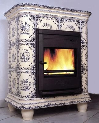 Ceramique Regnier - Stufa a legna-Ceramique Regnier-Manon