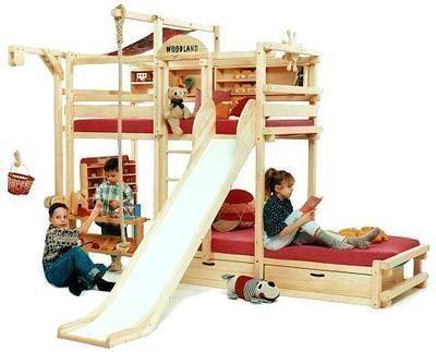 Woodland - Letto a castello per bambino-Woodland-Amarillo