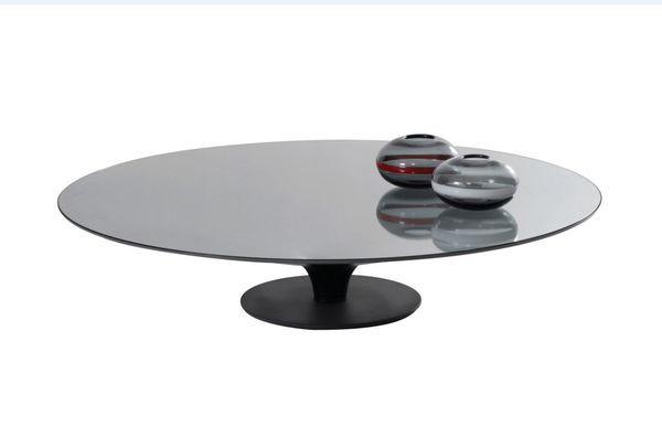 ROCHE BOBOIS - Tavolino ovale-ROCHE BOBOIS-Ovni